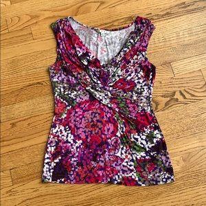 CAbi sleeveless shirt